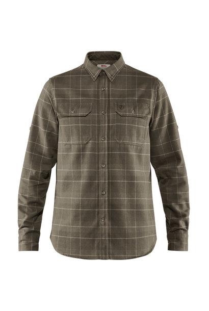 Fjällräven Singi Heavy Flannel Shirt M Dark Olive
