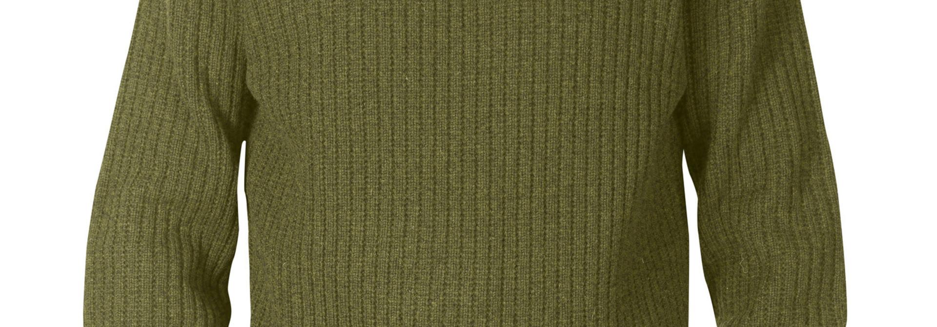 Fjällräven Singi Knit Sweater M Dark Olive