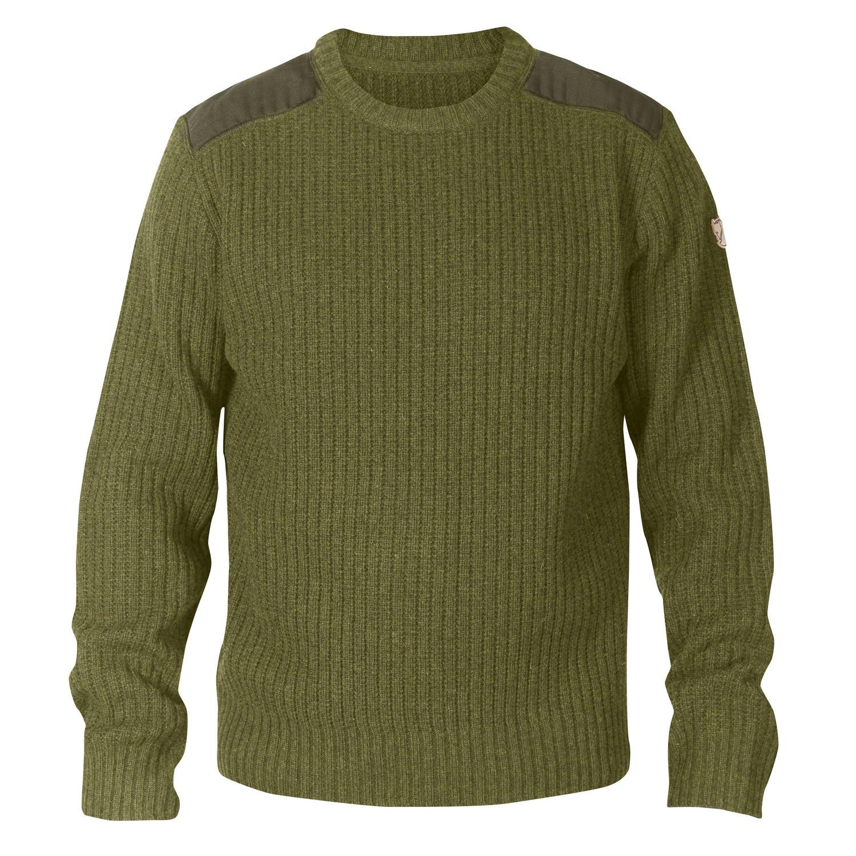 Fjällräven Singi Knit Sweater M Dark Olive-1