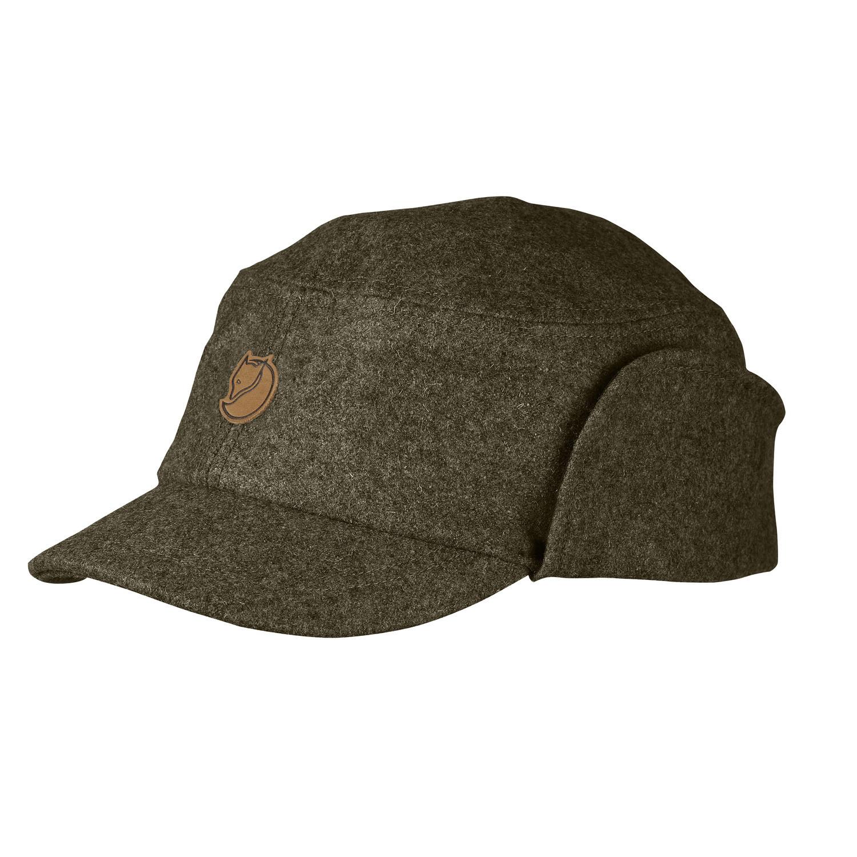 Fjällräven Singi Winter Cap Dark Olive-1