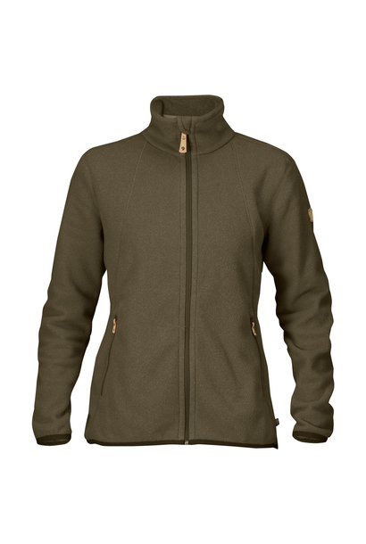 Fjällräven Stina Fleece W Dark Olive