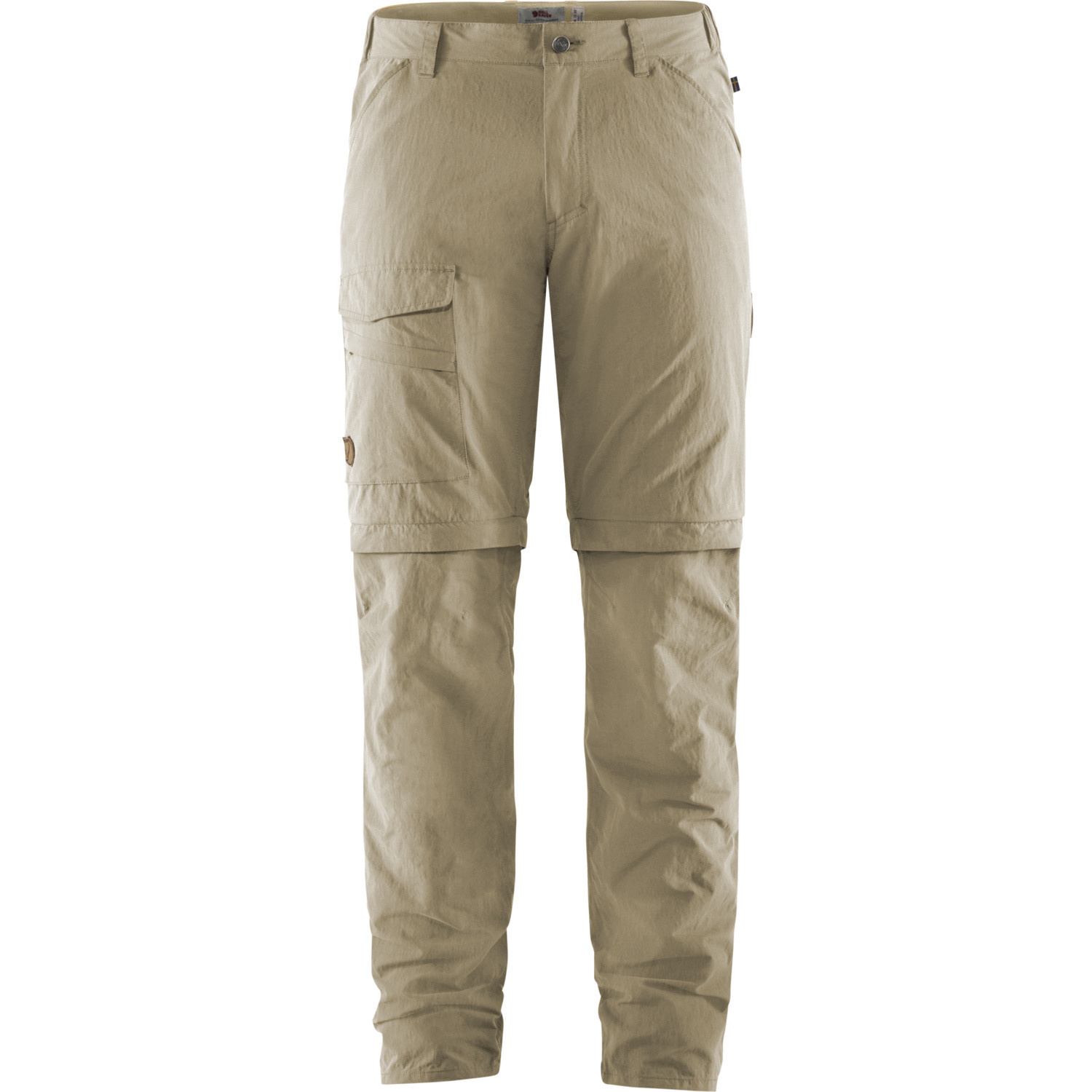 Fjällräven Travellers MT Zip-off Trousers M Light Beige-1