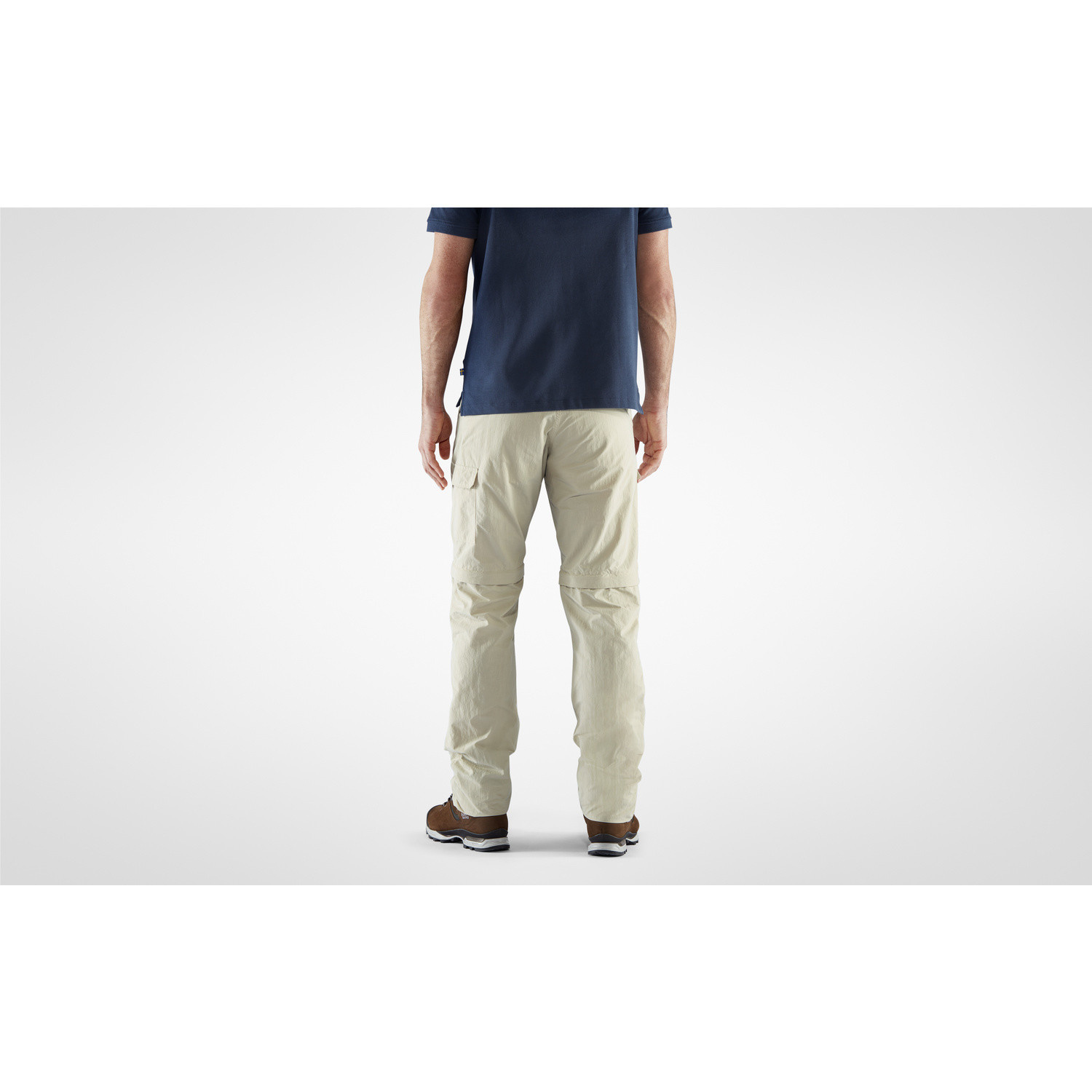 Fjällräven Travellers MT Zip-off Trousers M Light Beige-4