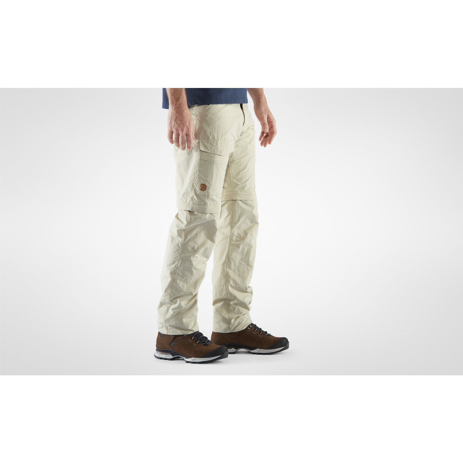 Fjällräven Travellers MT Zip-off Trousers M Light Beige-5