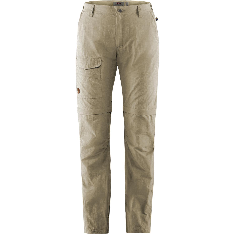 Fjällräven Travellers MT Zip-off Trousers W Light Beige-1