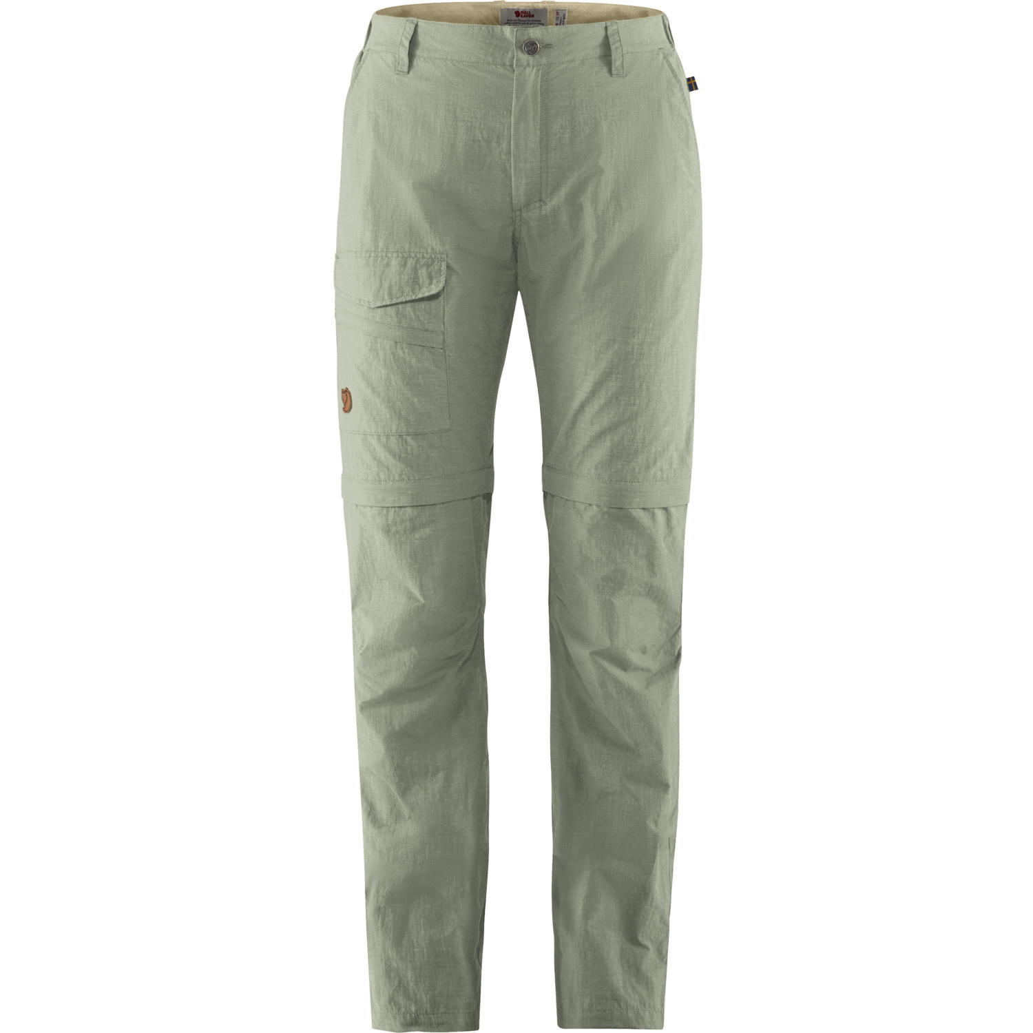 Fjällräven Travellers MT Zip-off Trousers W Sage Green-1