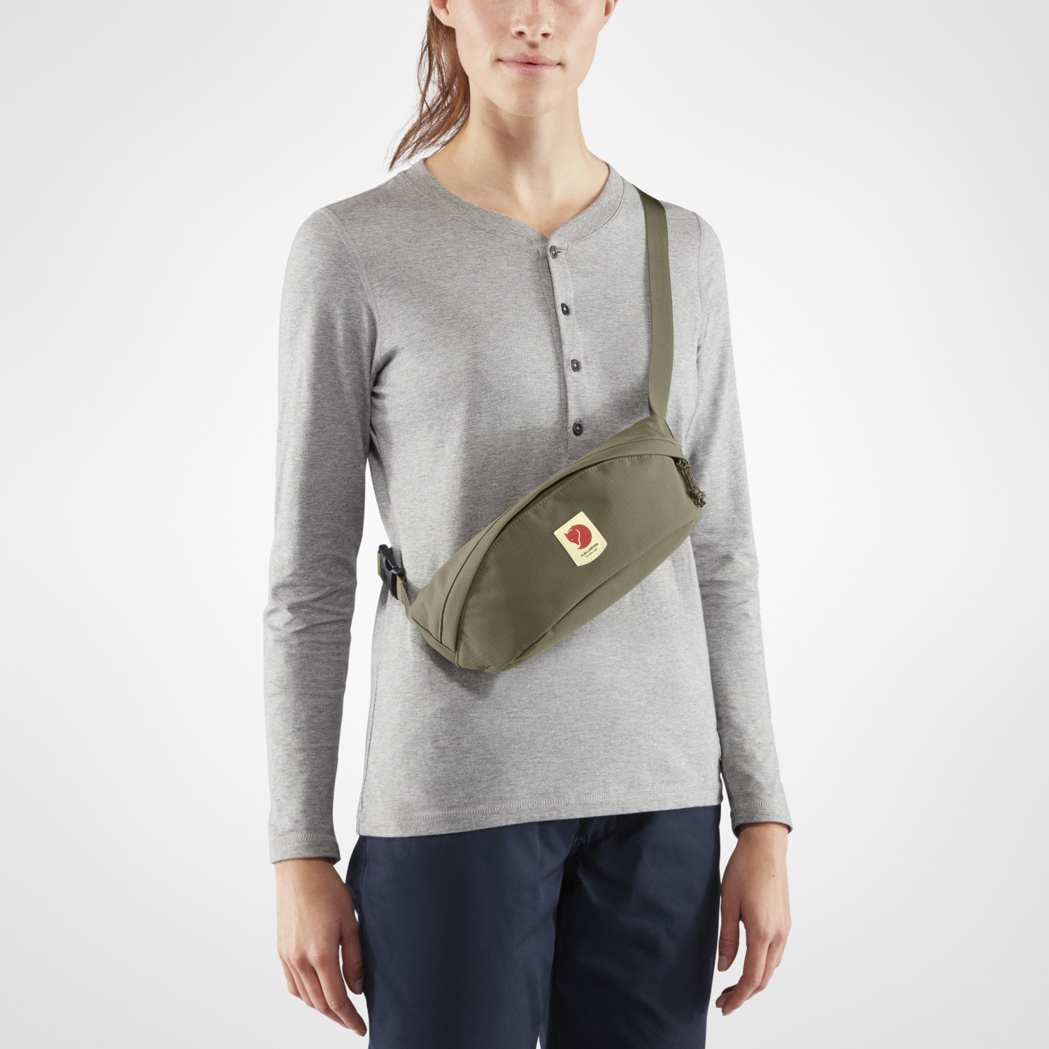 Fjällräven Ulvö Hip Pack Medium Laurel Green-3