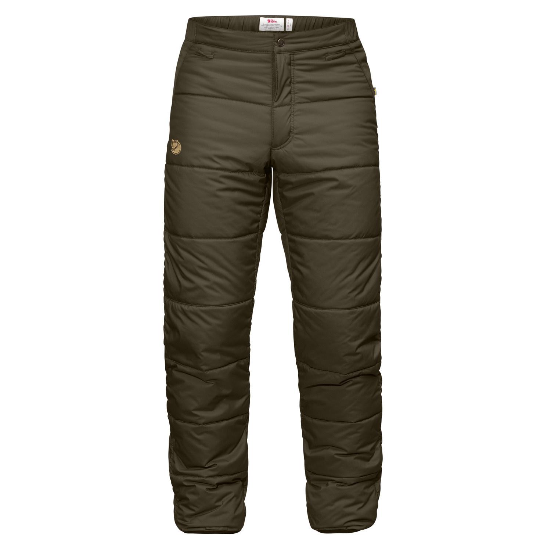 Fjällräven Värmland Padded Trousers M Dark Olive-1