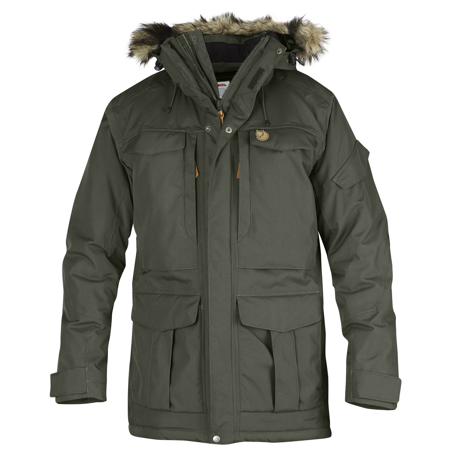 Fjällräven Yupic Parka M Mountain Grey-1