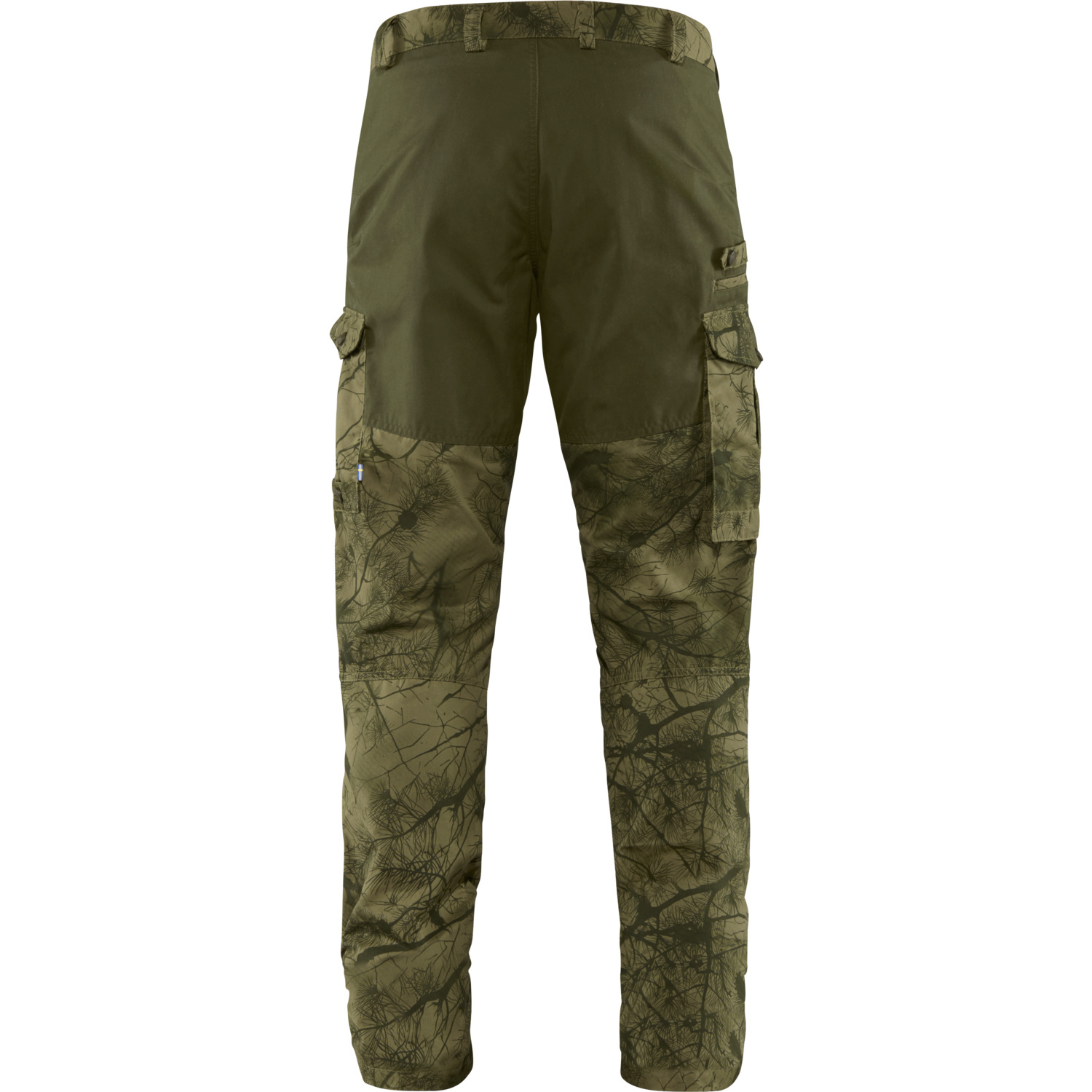 Fjällräven Barents Pro Hunting Trousers M Green Camo-Deep Forest-2