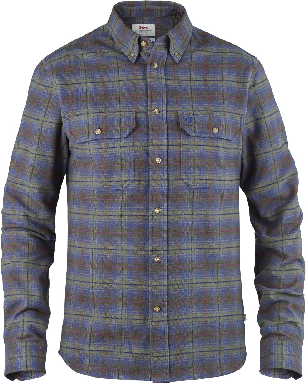Fjällräven Skog Shirt M Uncle Blue-1
