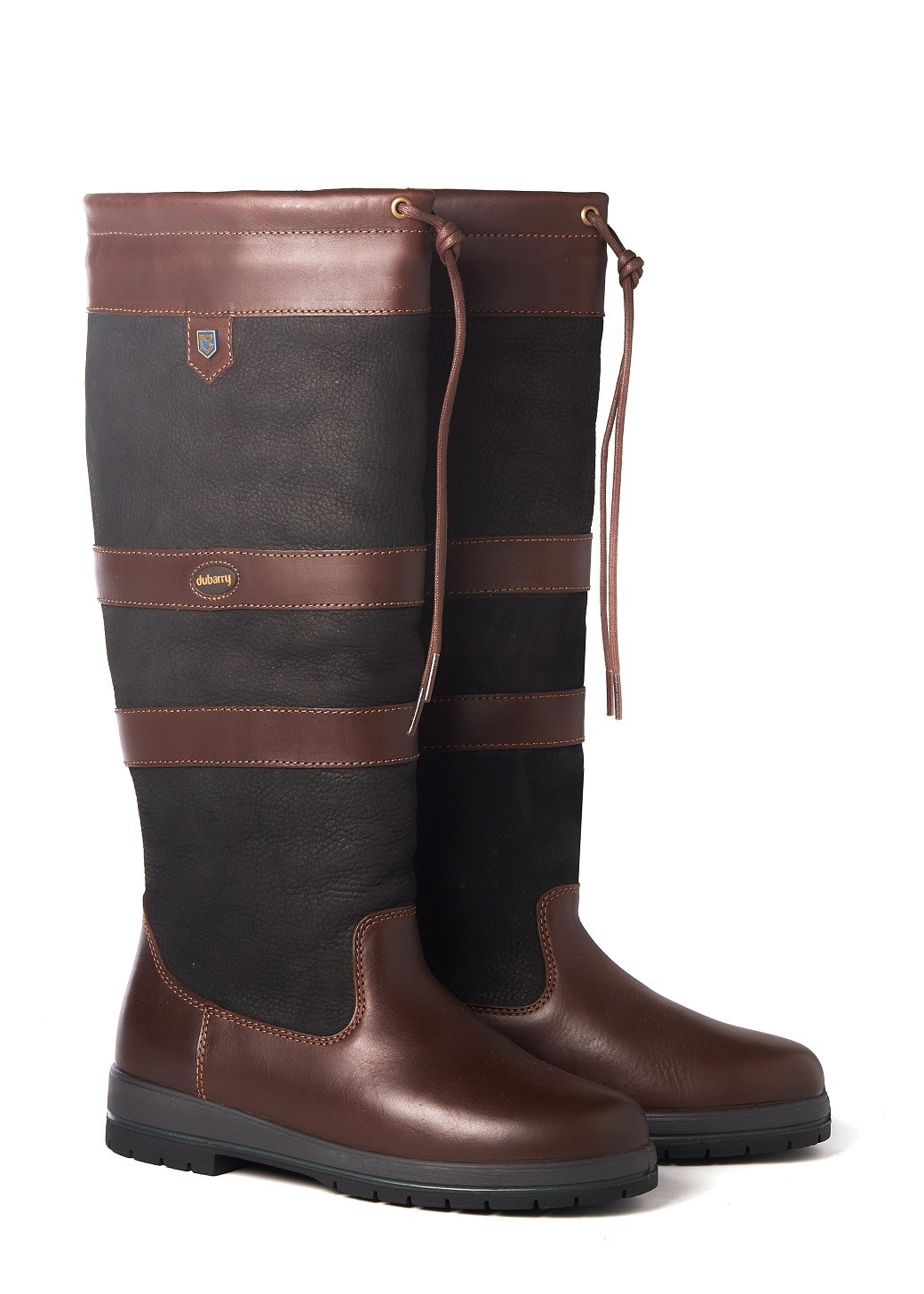 Dubarry Galway Extrafit™- Black/Brown-1