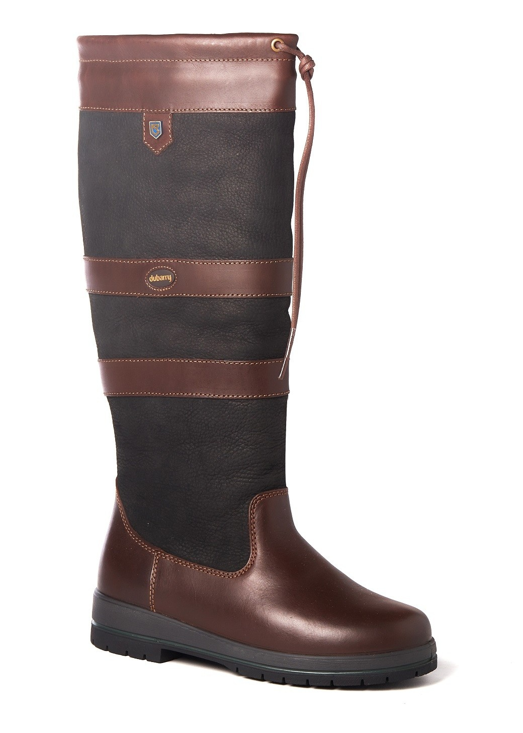Dubarry Galway Extrafit™- Black/Brown-2