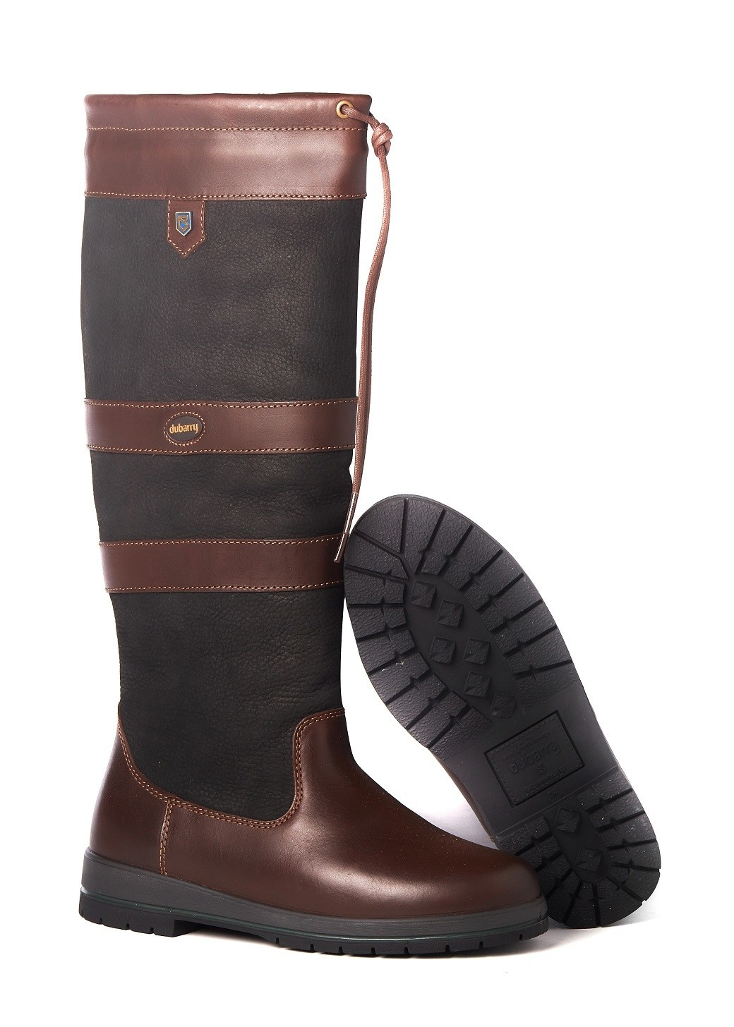 Dubarry Galway Extrafit™- Black/Brown-3