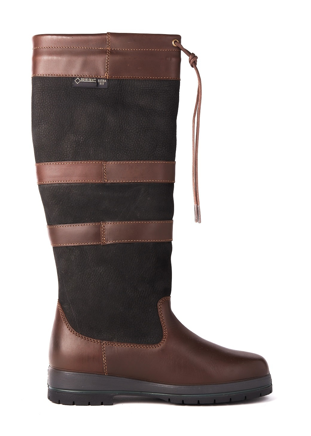 Dubarry Galway Extrafit™- Black/Brown-5