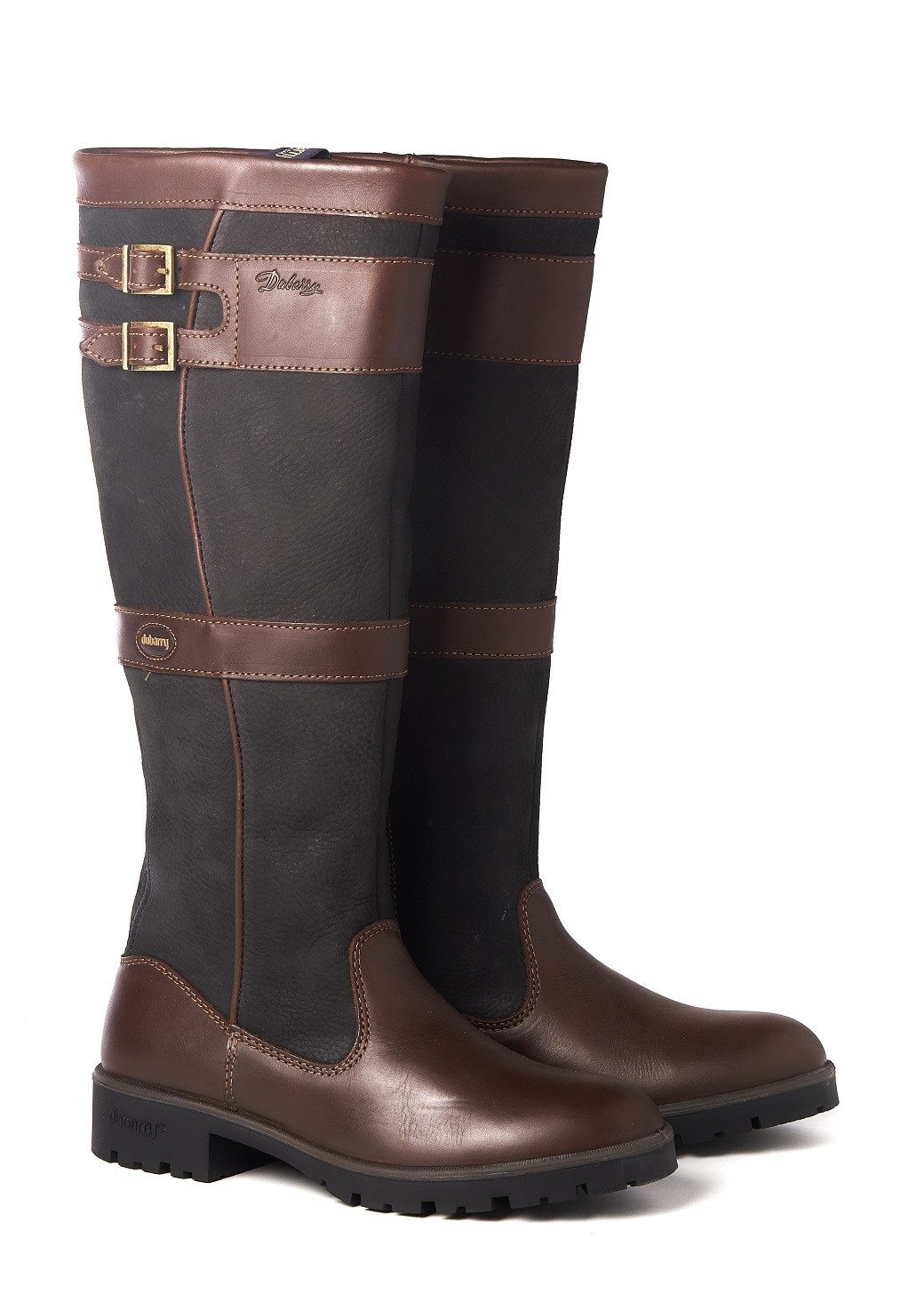Dubarry Longford - Black/Brown-1