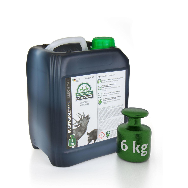 Eurohunt Buchenholzteer 5.0 ltr./ 6 kg-1