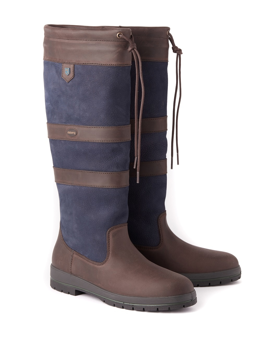 Dubarry Galway Extrafit™- Navy/Brown-1