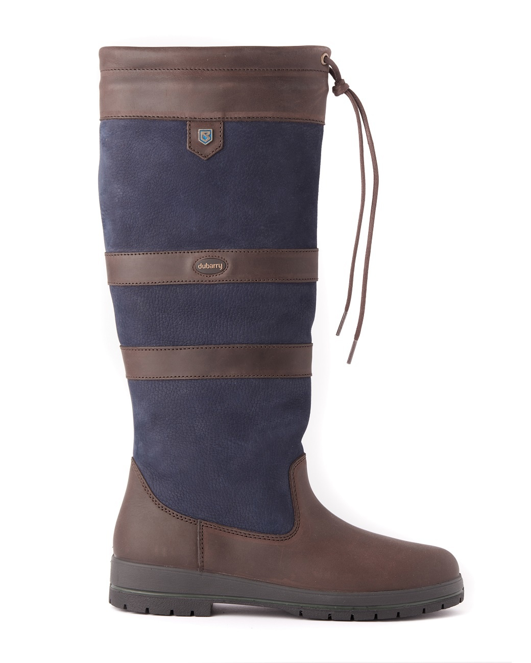 Dubarry Galway Extrafit™- Navy/Brown-6