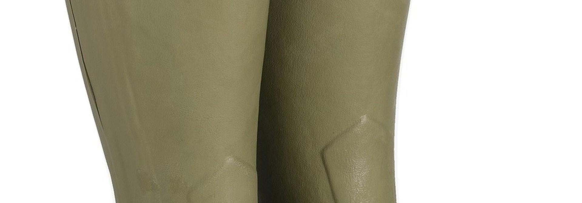 Le Chameau Men's Chasseur Leather Lined Boot Vert Vierzon