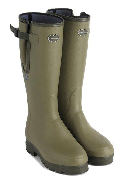 Le Chameau Men's Vierzonord Plus Neoprene Boot Vert Vierzon