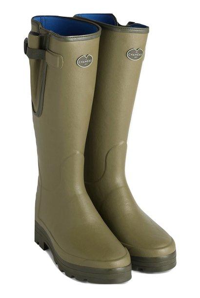 Le Chameau Men's Vierzonord Neoprene Lined Boot Vert Vierzon