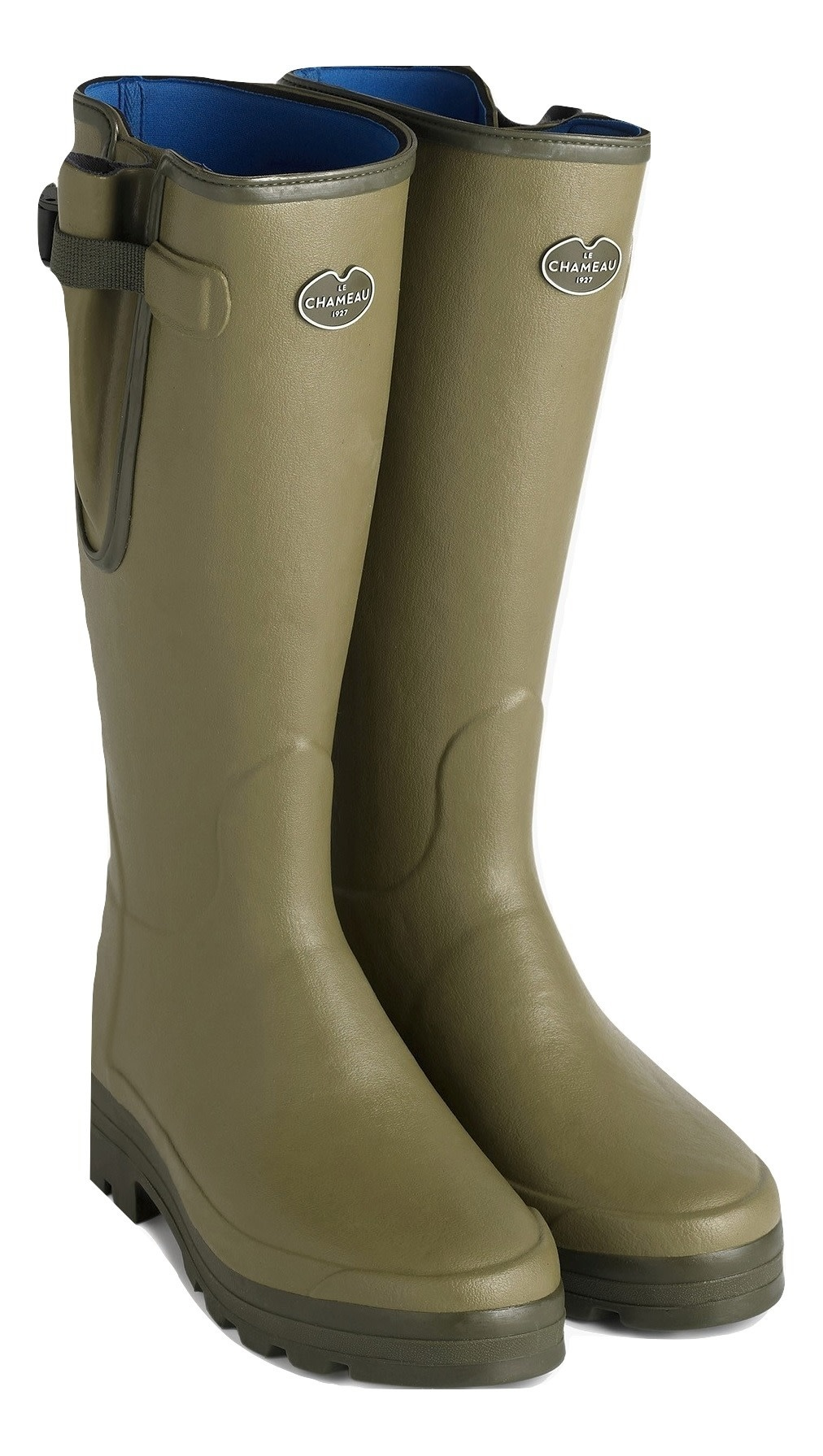 Le Chameau Men's Vierzonord Neoprene Lined Boot Vert Vierzon-1