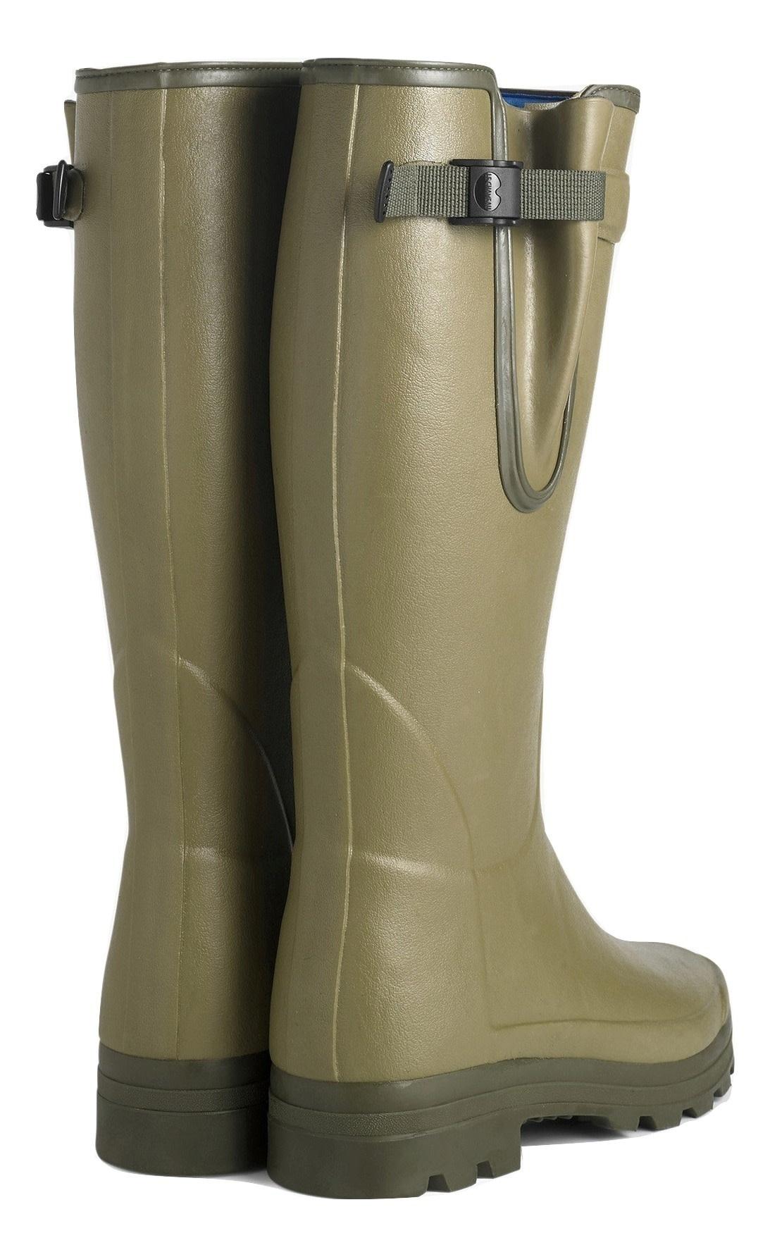 Le Chameau Men's Vierzonord Neoprene Lined Boot Vert Vierzon-3