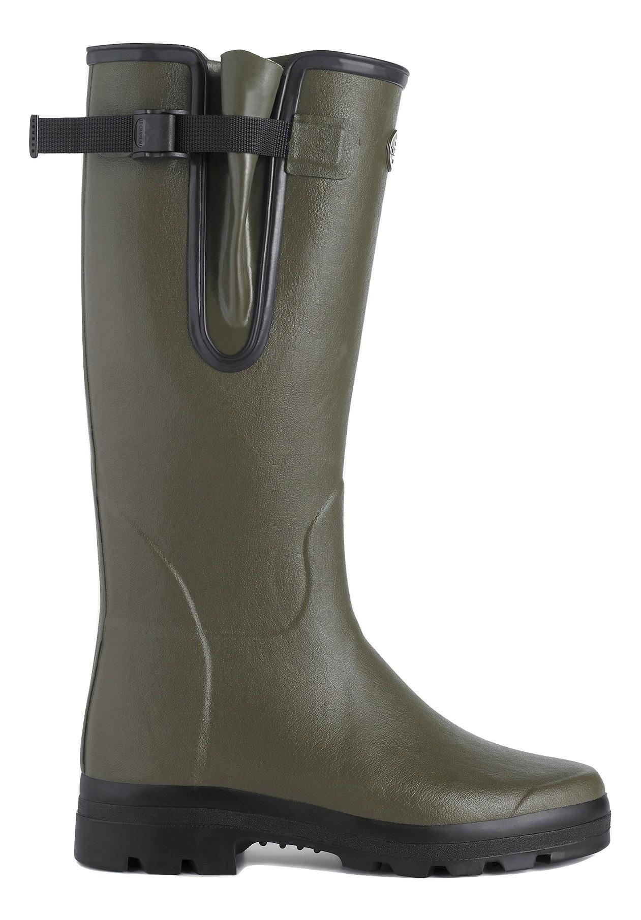 Le Chameau Men's Vierzon Jersey Lined Boot Vert Chameau-2