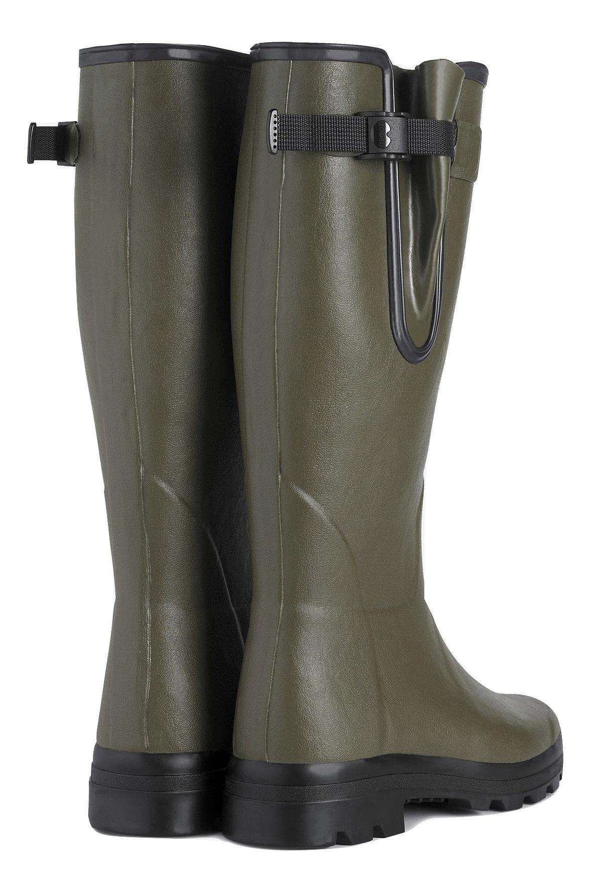 Le Chameau Men's Vierzon Jersey Lined Boot Vert Chameau-3