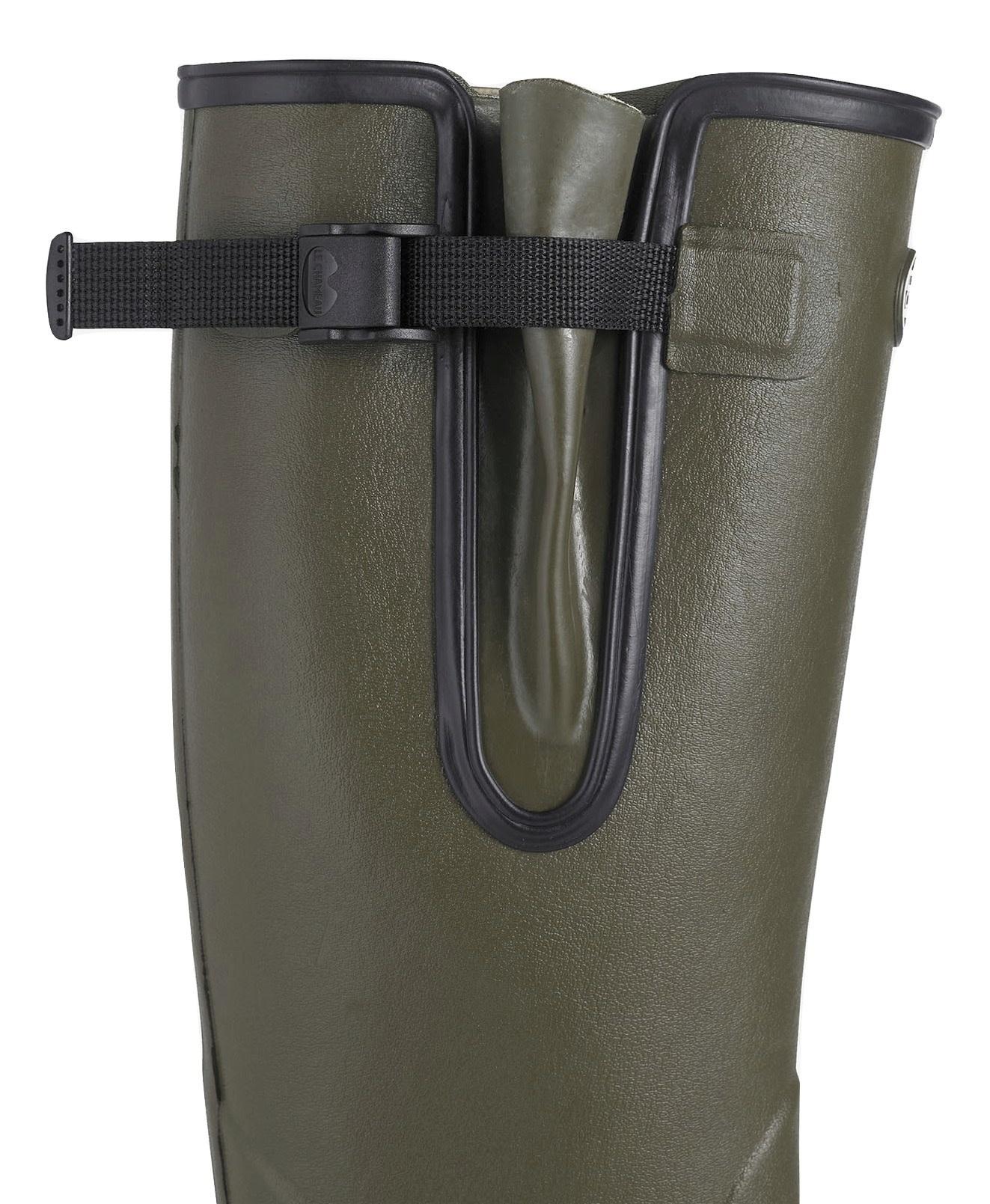 Le Chameau Men's Vierzon Jersey Lined Boot Vert Chameau-4