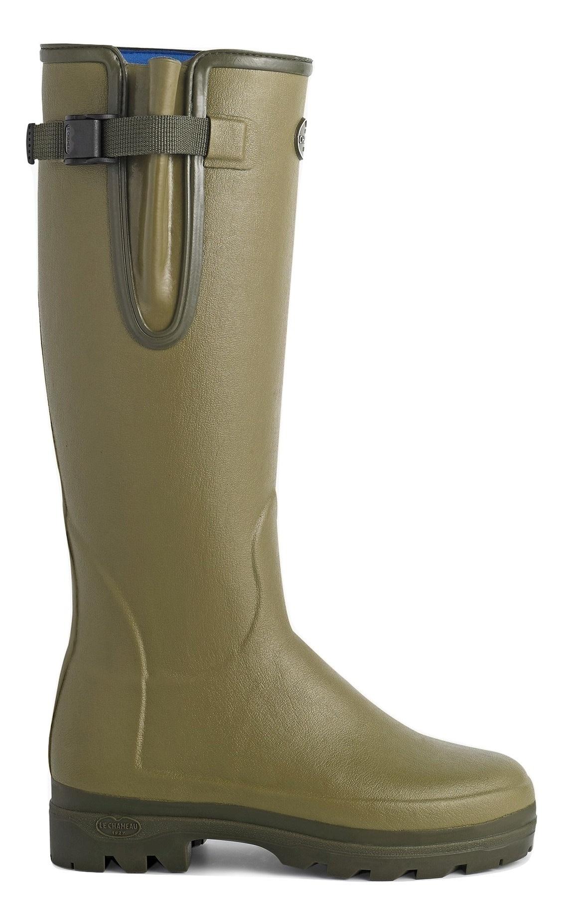 Le Chameau Women's Vierzonord Neoprene Lined Boot Vert Vierzon-2