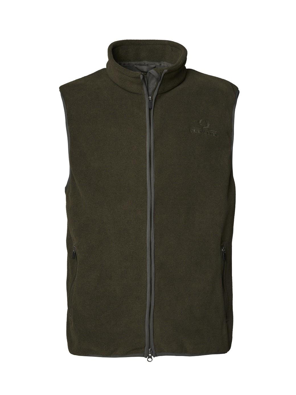 Chevalier Bylot Fleece Vest Green-1