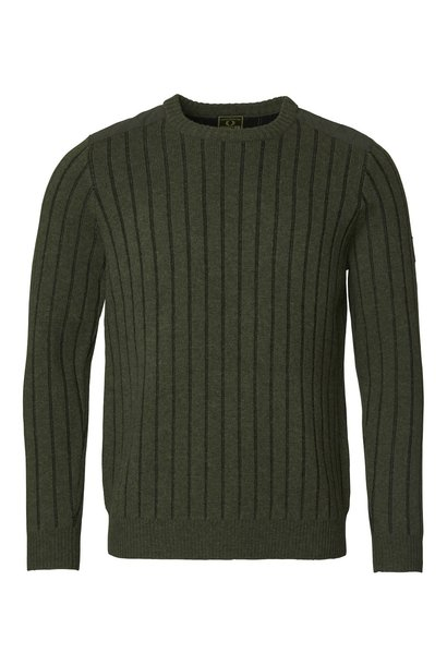 Chevalier Fjord Plated RN Sweater Green