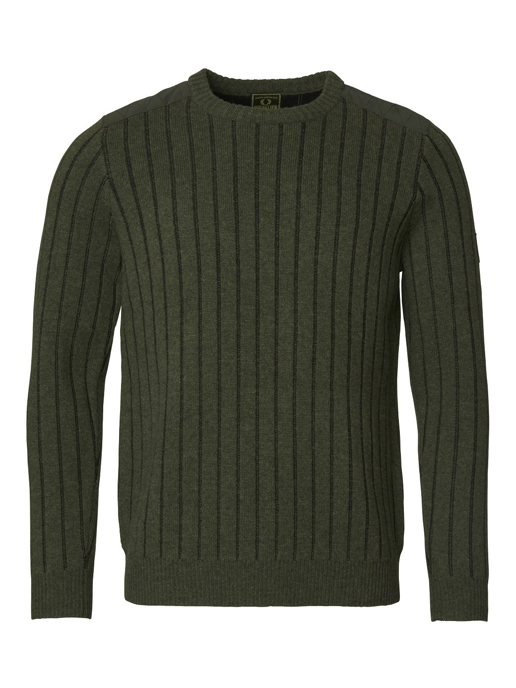 Chevalier Fjord Plated RN Sweater Green-1