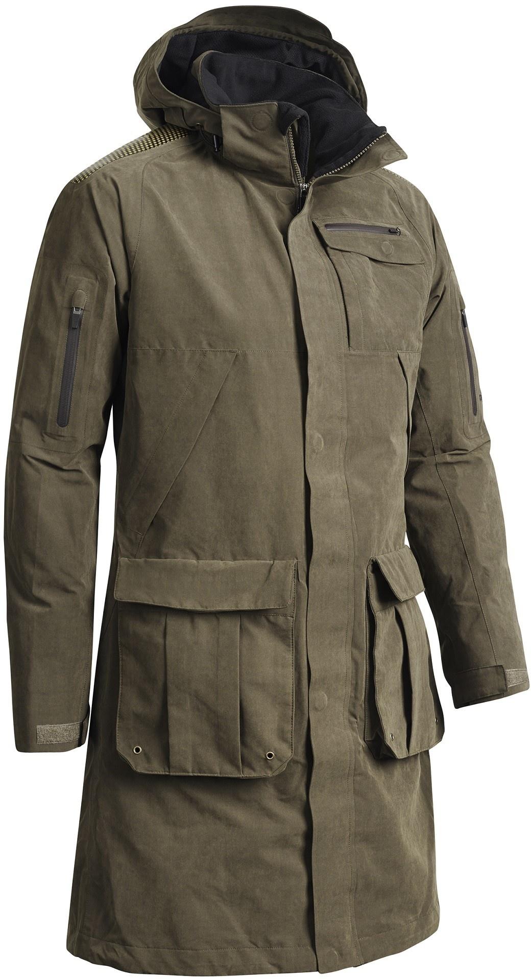 Chevalier Highland XLT Long Coat Green-1
