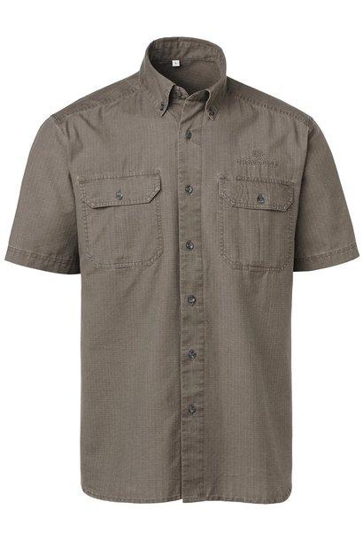 Chevalier Nakuru Safari Shirt BD SS Brown