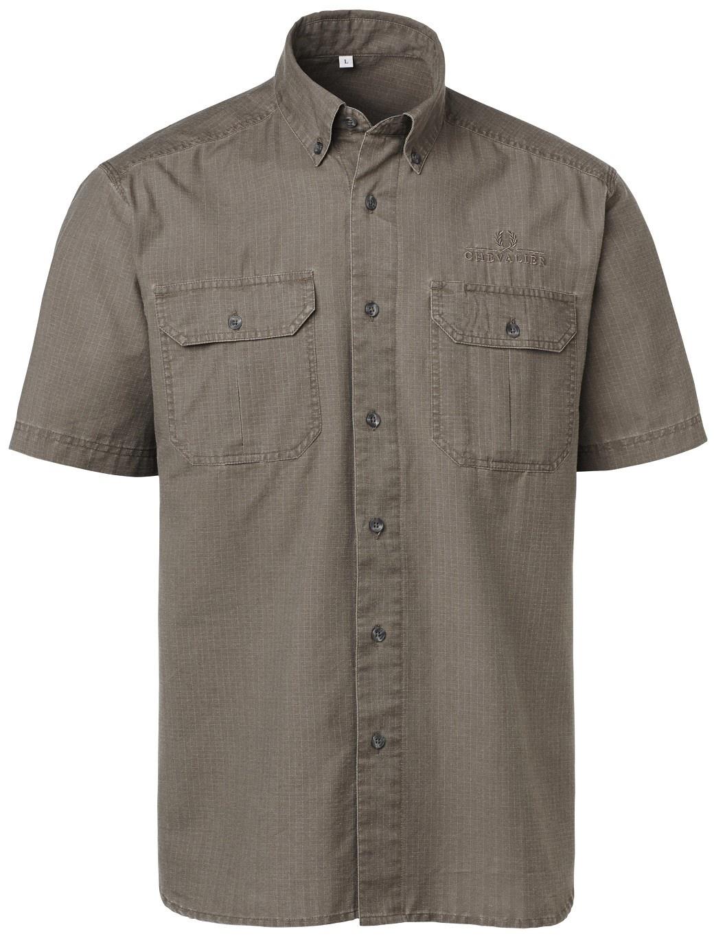 Chevalier Nakuru Safari Shirt BD SS Brown-1