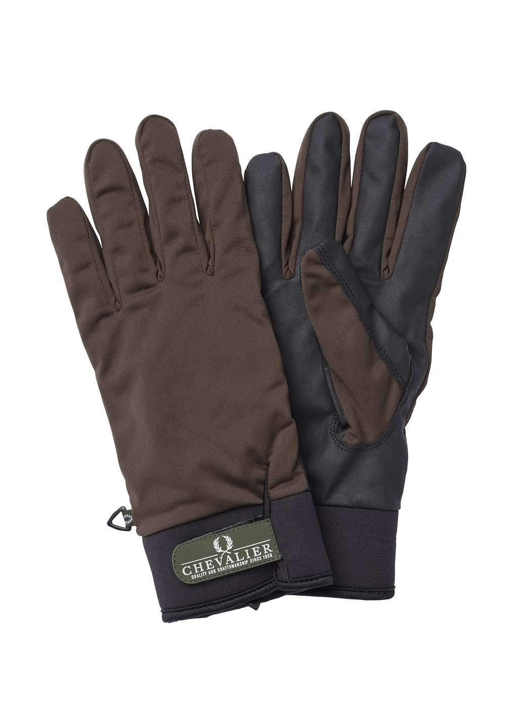 Chevalier Shooting Glove No Slip Lined Brown-1