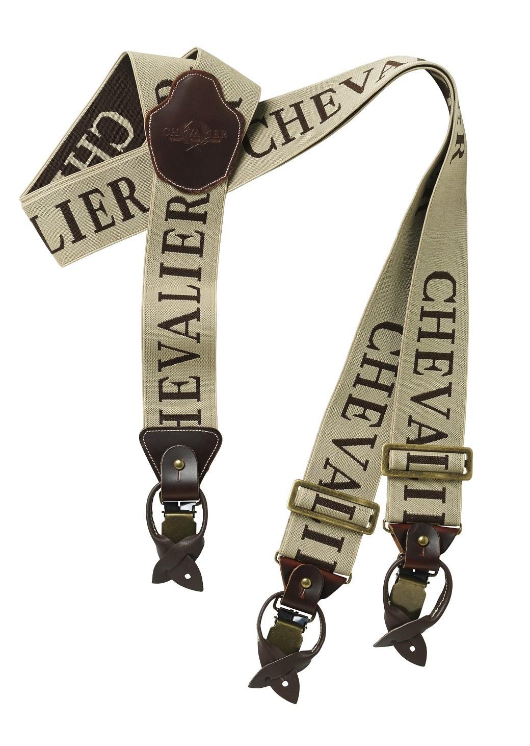 Chevalier Suspenders 50mm C/S Beige-1