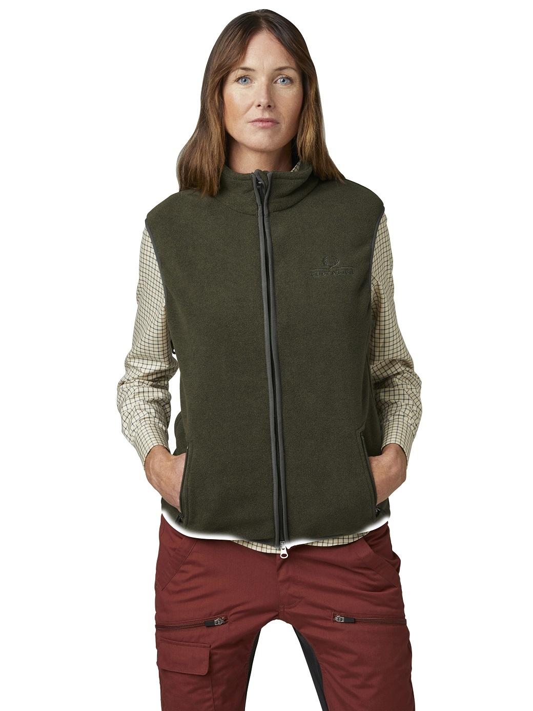 Chevalier Bylot Fleece Vest Women Green-2