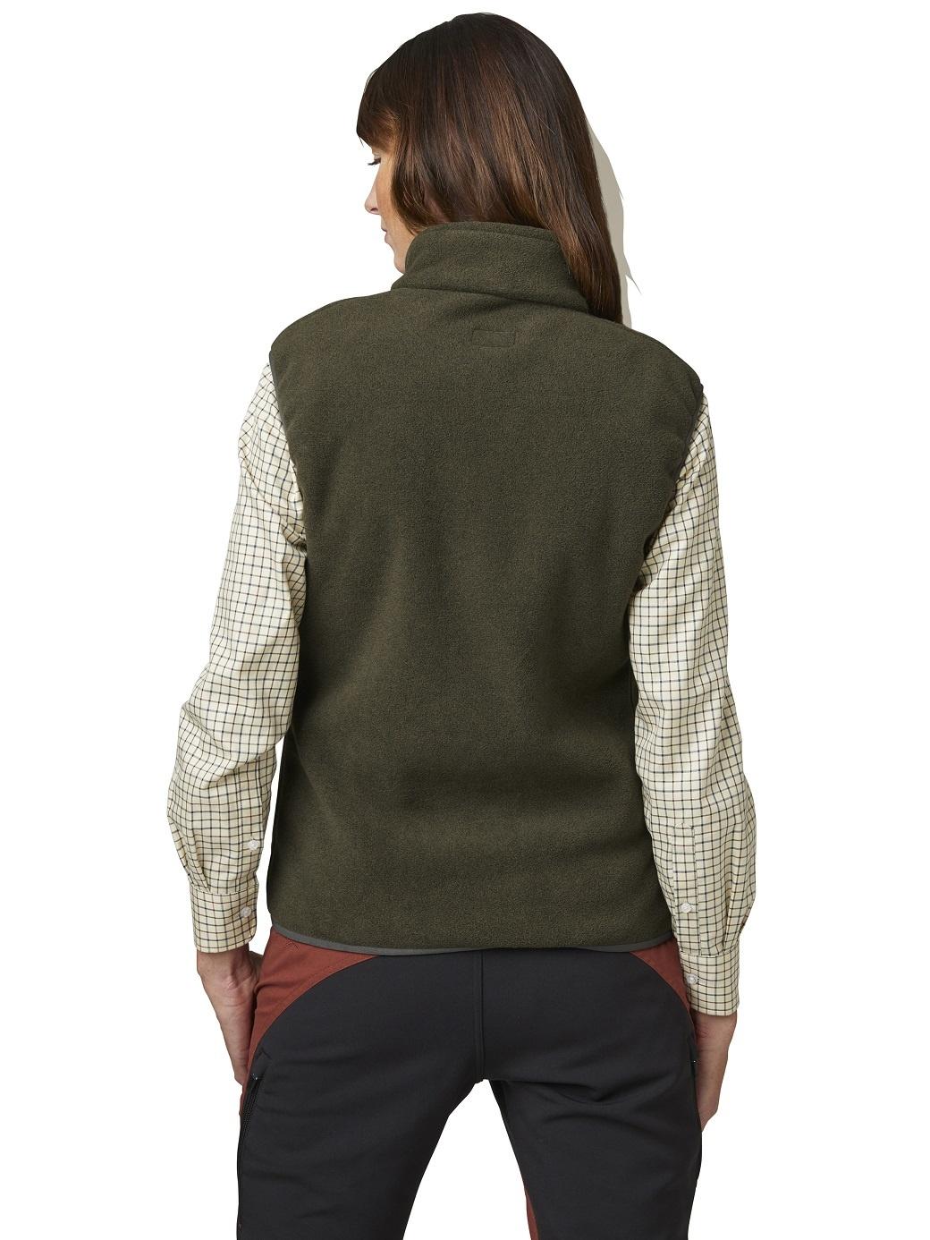 Chevalier Bylot Fleece Vest Women Green-3