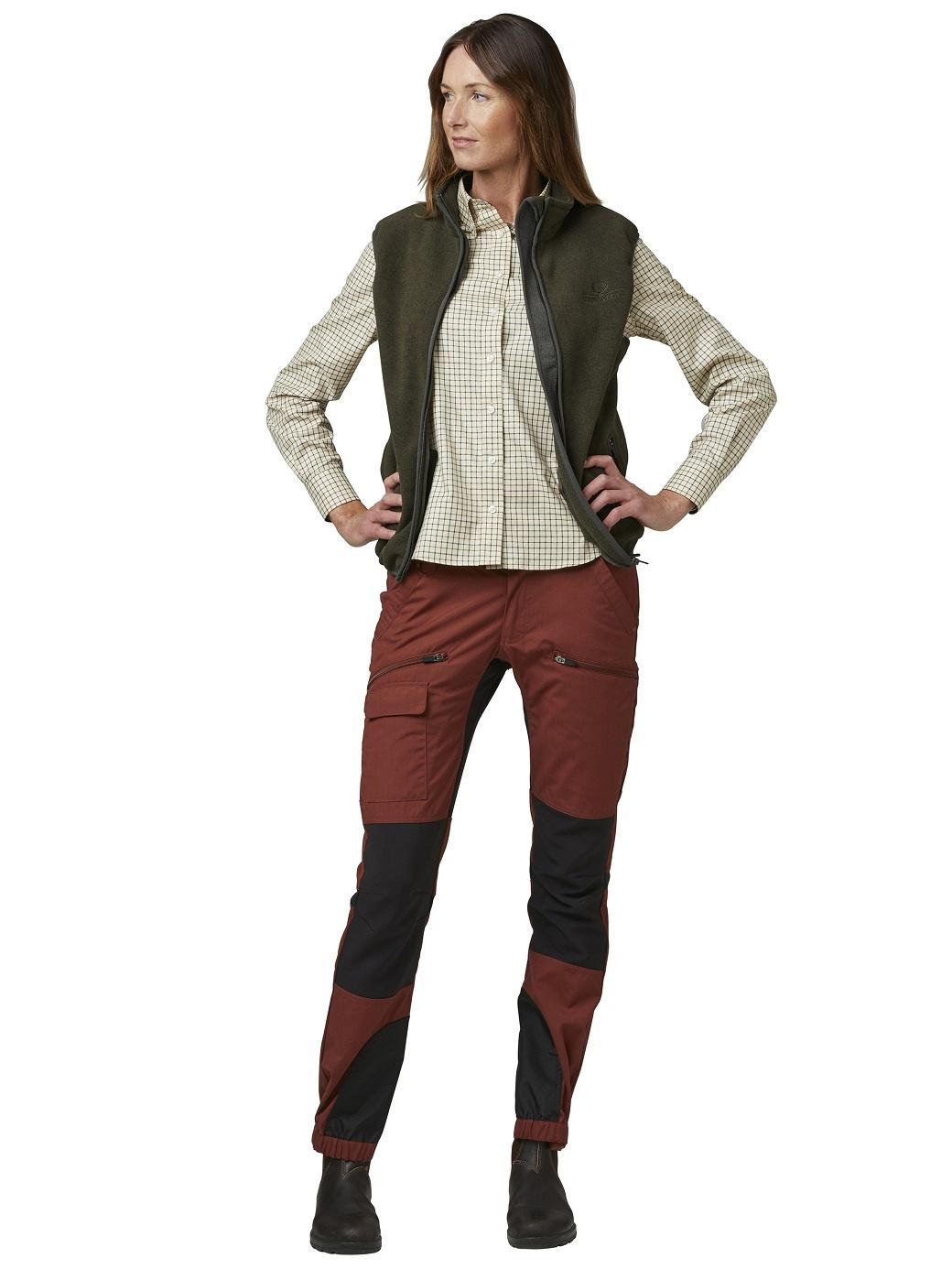 Chevalier Bylot Fleece Vest Women Green-4
