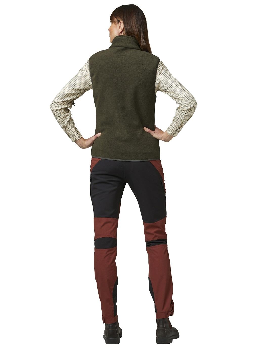 Chevalier Bylot Fleece Vest Women Green-5