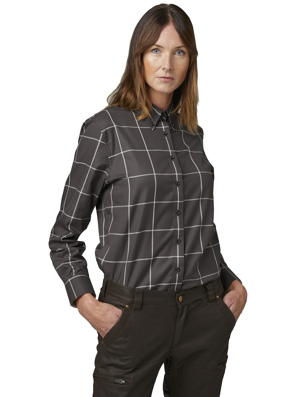 Chevalier Whisper Lady Shirt LS Check-2