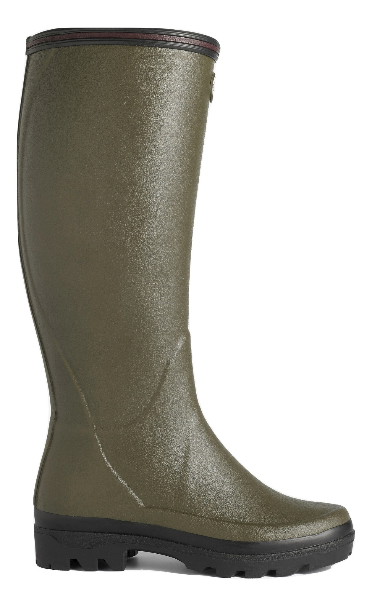 Le Chameau Women's Giverny Jersey Lined Boot Vert Chameau-2