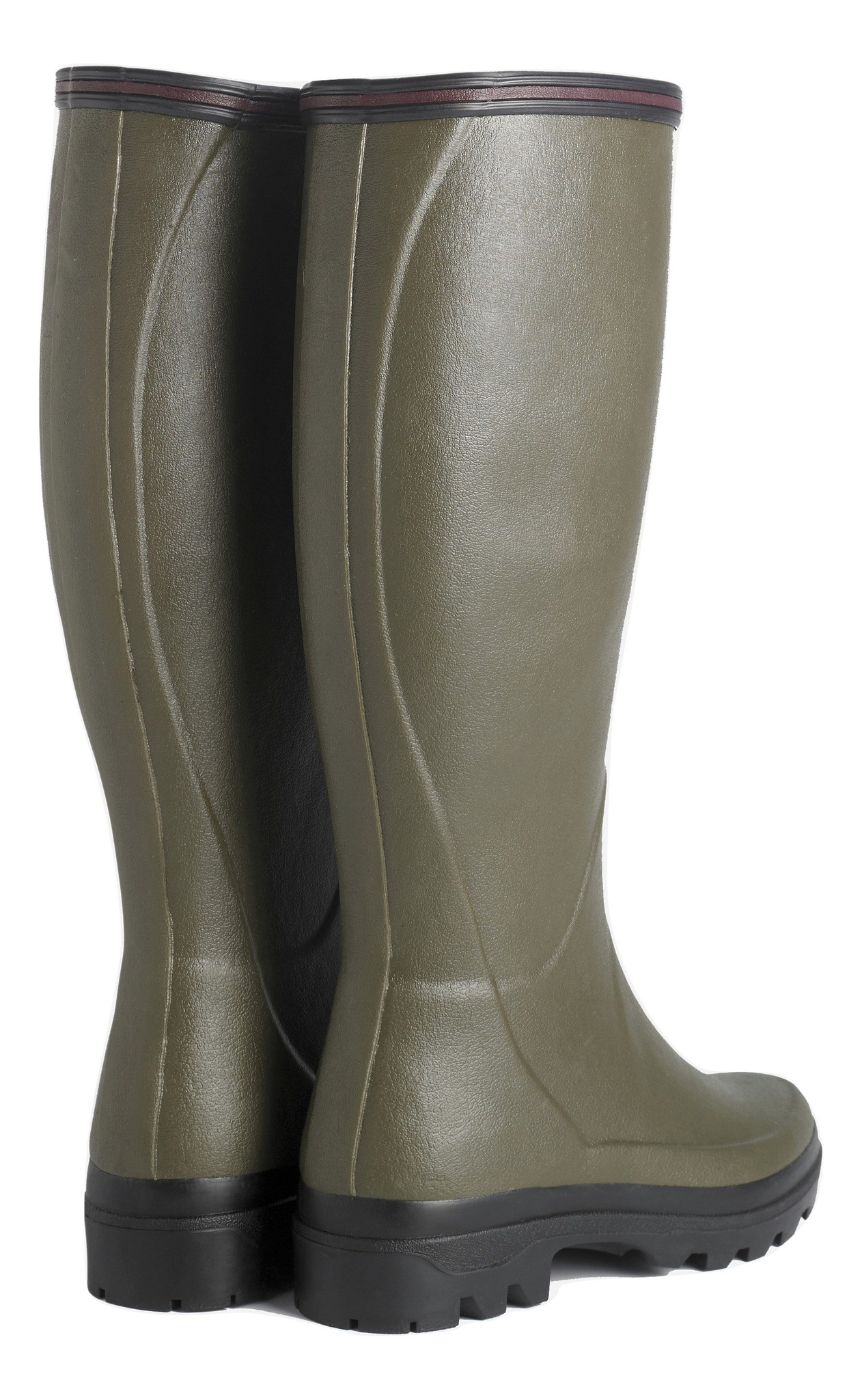 Le Chameau Women's Giverny Jersey Lined Boot Vert Chameau-3