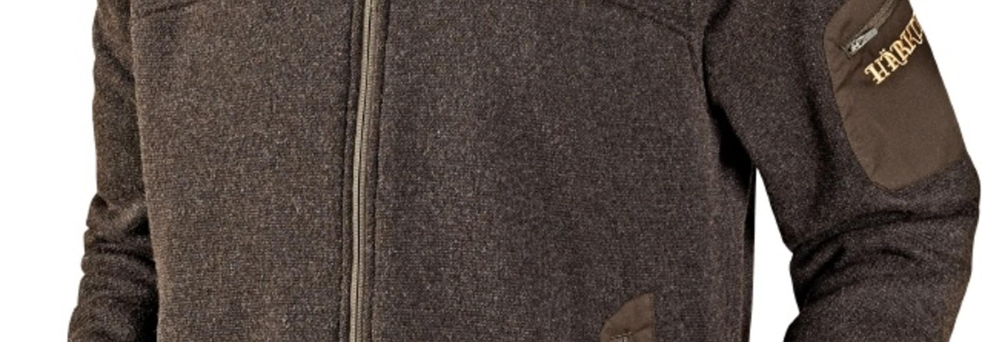 Härkila Norja cardigan Shadow Brown Melange