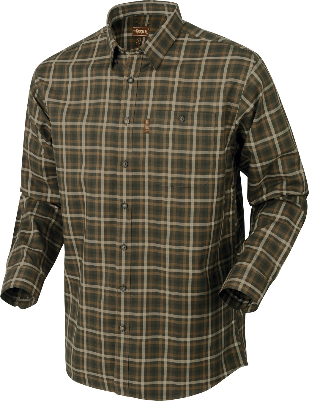 Härkila Milford Shirt Willow Green Check-1