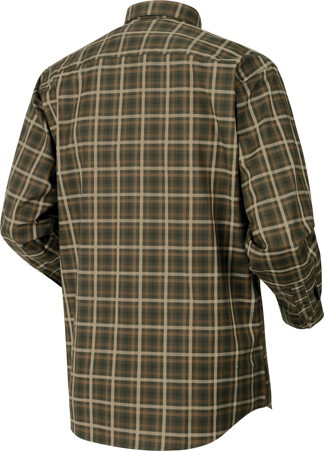 Härkila Milford Shirt Willow Green Check-2